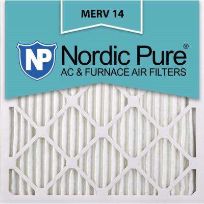 20 in. x 20 in. x 1 in. Supreme Allergen Pleated MERV 14 - FPR 10 Air Filter (6-Pack)