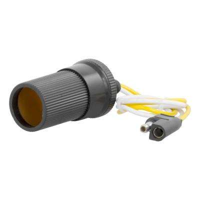 Accessory Socket (Fits 2, 4 or 5-Way Flat, Packaged)