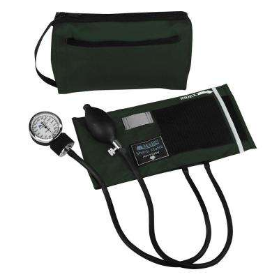 MatchMates Aneroid Sphygmomanometers Kit in Hunter Green