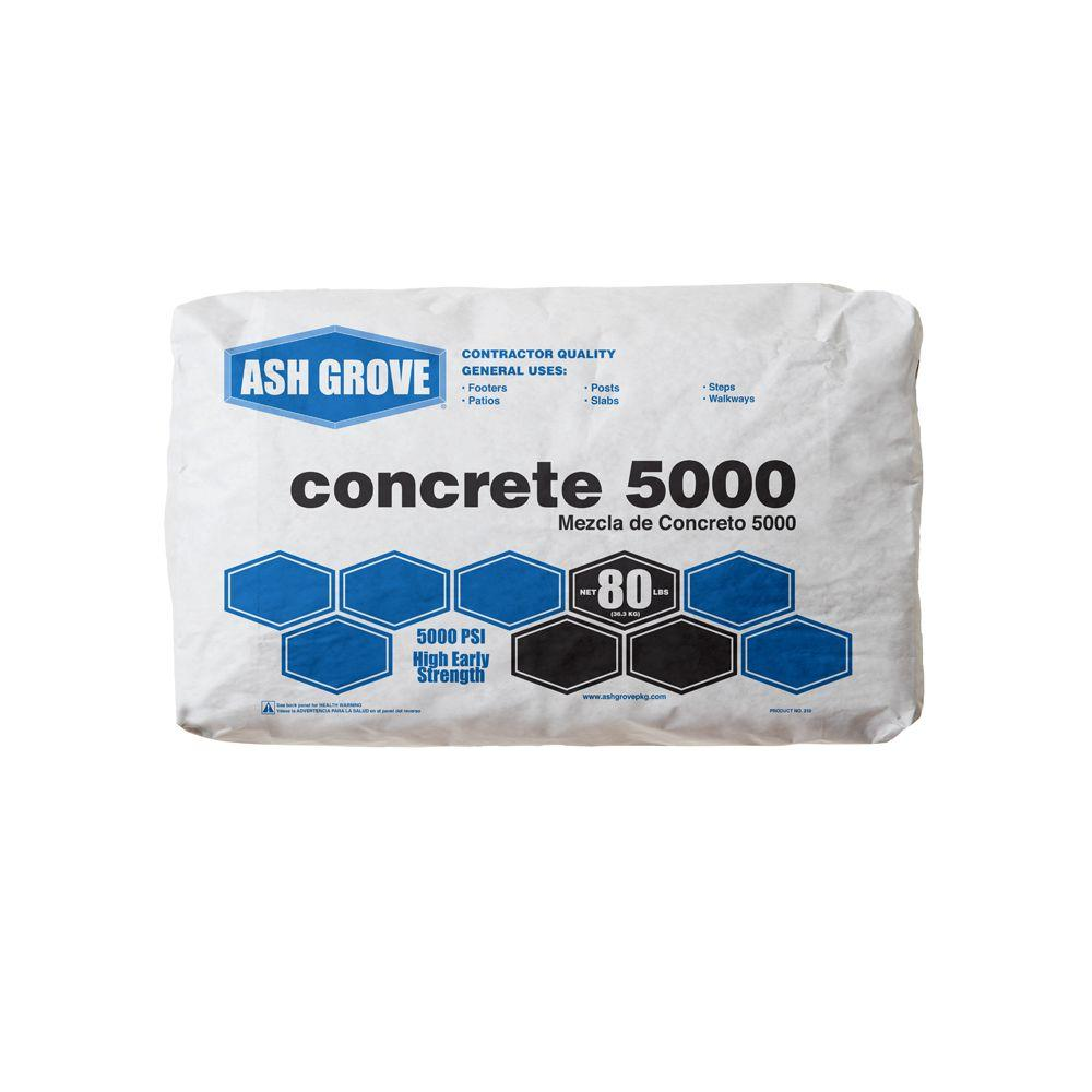 80 lb. Concrete Mix