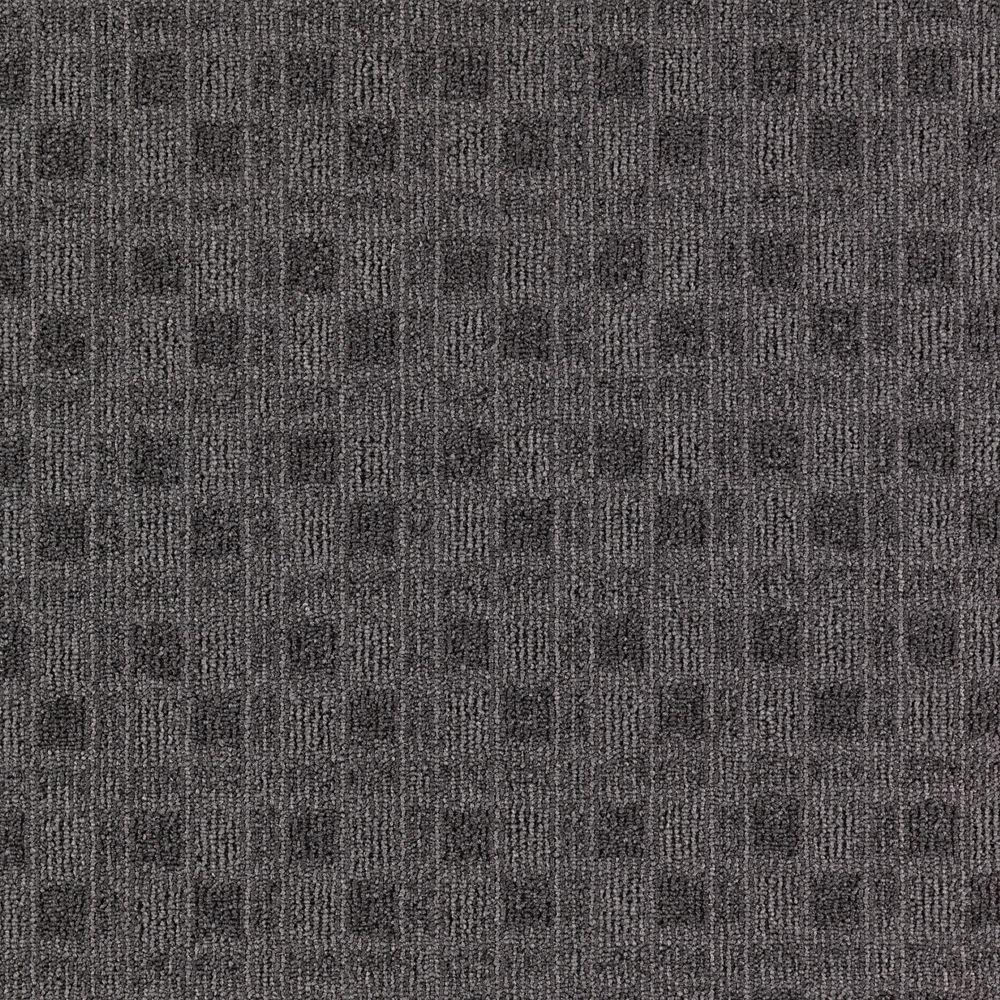 Carpet Sample - Cross Functional - Color Iron Works Loop 8 in. x 8 in.