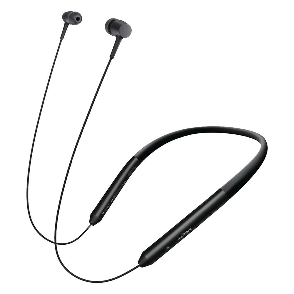 Audiolux Audiolux Voice Enabled Wireless Neckband Headset with Bluetooth
