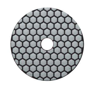 4 in. 400 Grit Resin Dry Polishing Pad