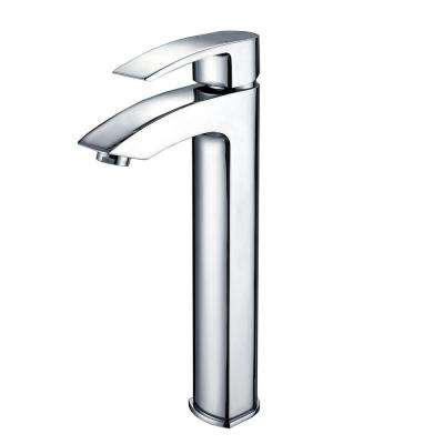 Visio Single Hole Single-Handle Vessel Bathroom Vessel Faucet in Chrome