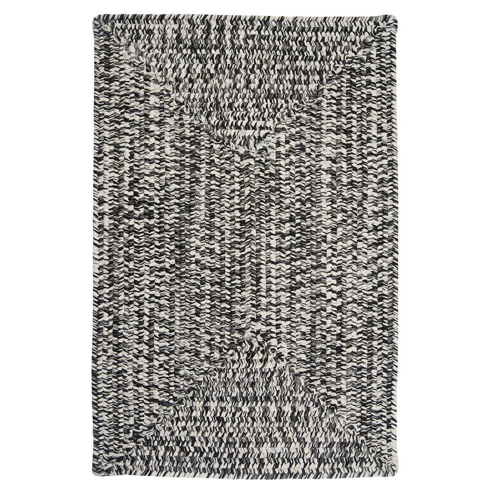 Marilyn Tweed Zebra 2 ft. x 4 ft. Braided Area Rug