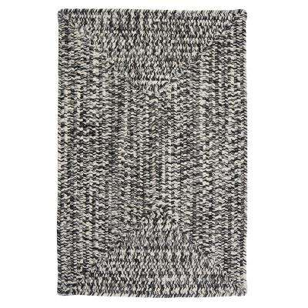 Marilyn Tweed Zebra 3 ft. x 5 ft. Braided Area Rug