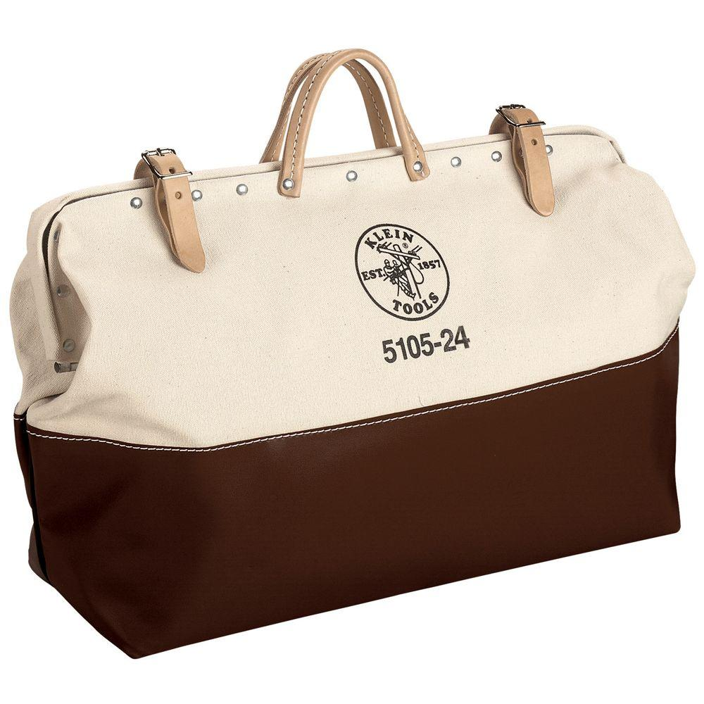 Klein Tools 24 in. High-Bottom Canvas Tool Bag