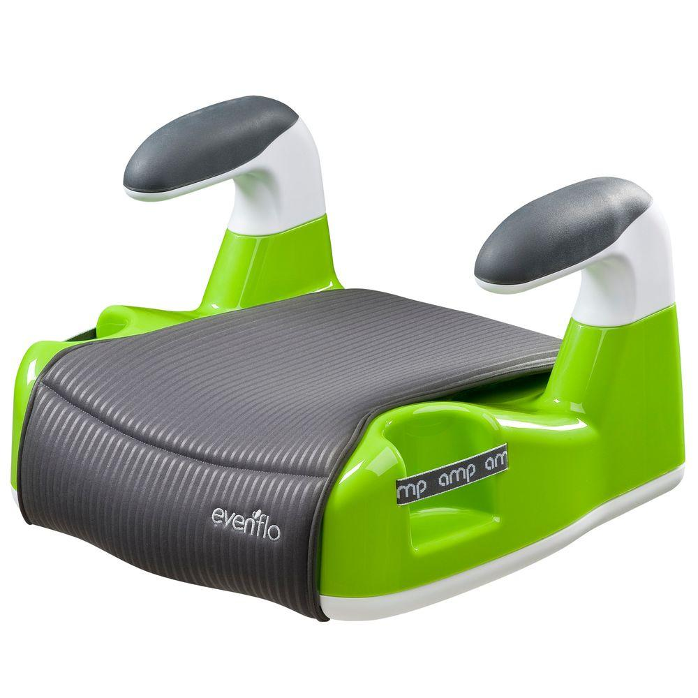 Evenflo AMP Performance No Back Booster Car Seat in Green
