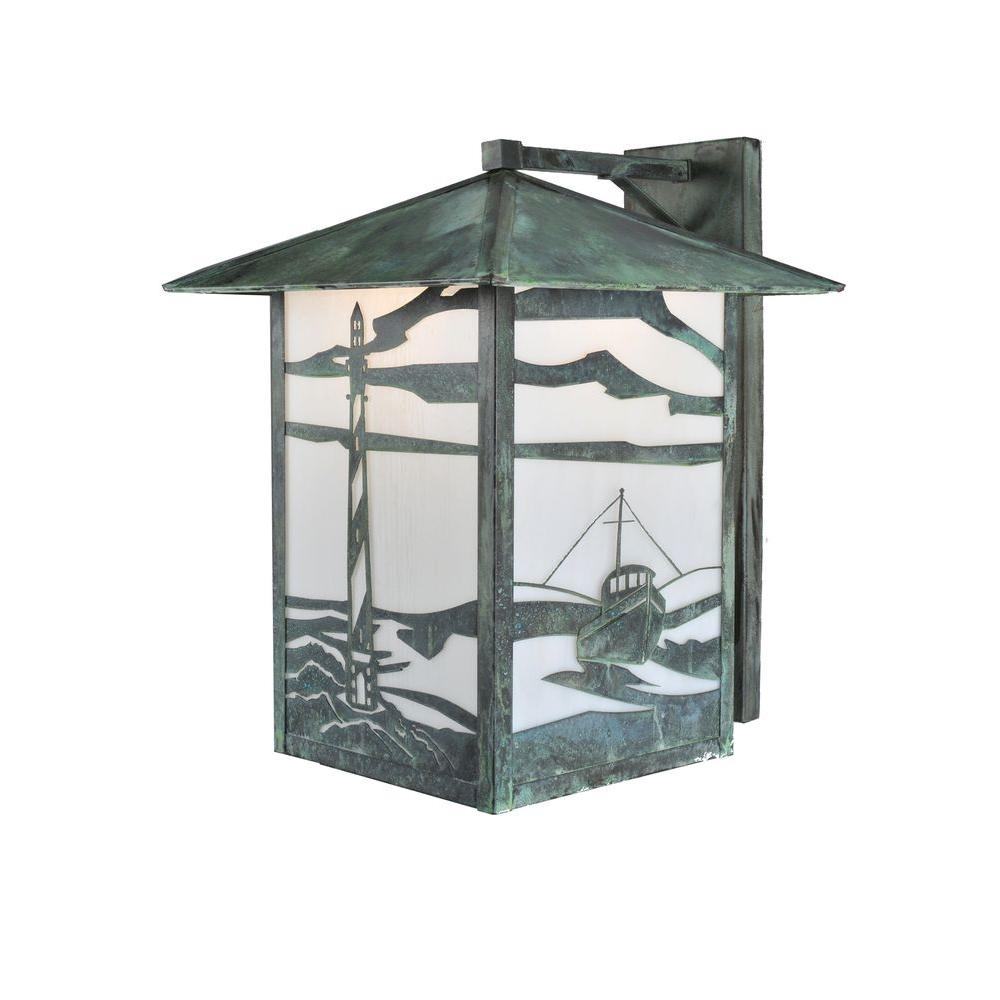 Illumine 1 Light house and Trawler Wall Sconce