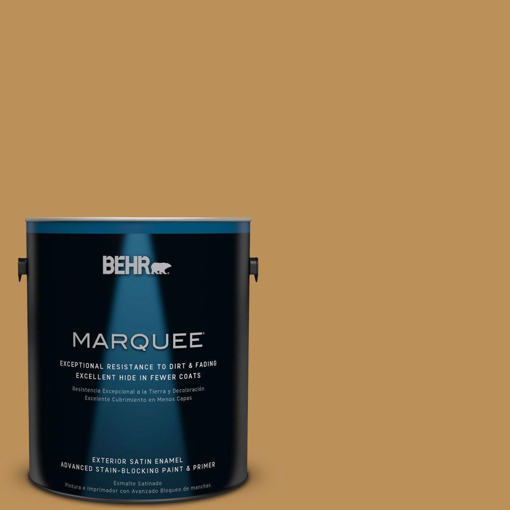 BEHR MARQUEE 1-gal. #MQ4-7 Radiance Satin Enamel Exterior Paint
