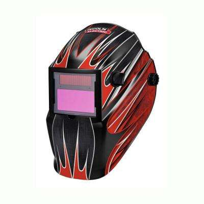 Red Fierce Auto Darkening Welding Helmet Variable Shade 7-13  with Grind Mode