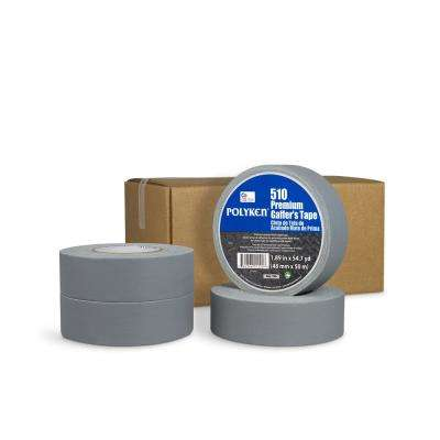 1.89 in. x 54.7 yd. 510 Professional-Grade Gaffer Tape in Silver (4-Pack)