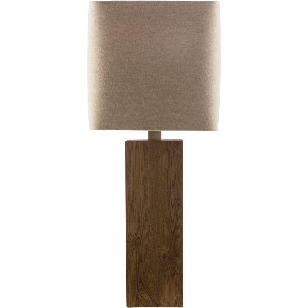 Estarriol 32.5 in. Wood Indoor Table Lamp