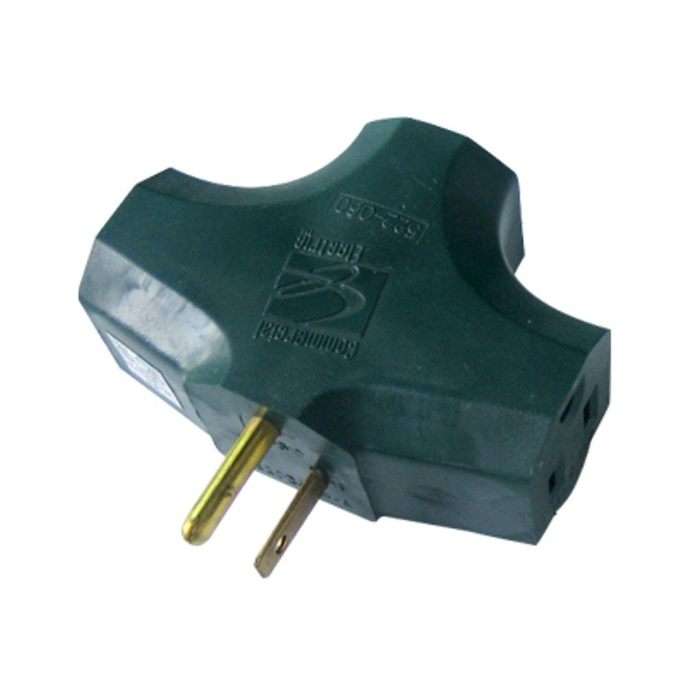 Home Accents Holiday 3-to-1 Adapter, Green
