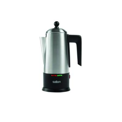 Percolator 10-Cup Stainless Steel Coffee Maker