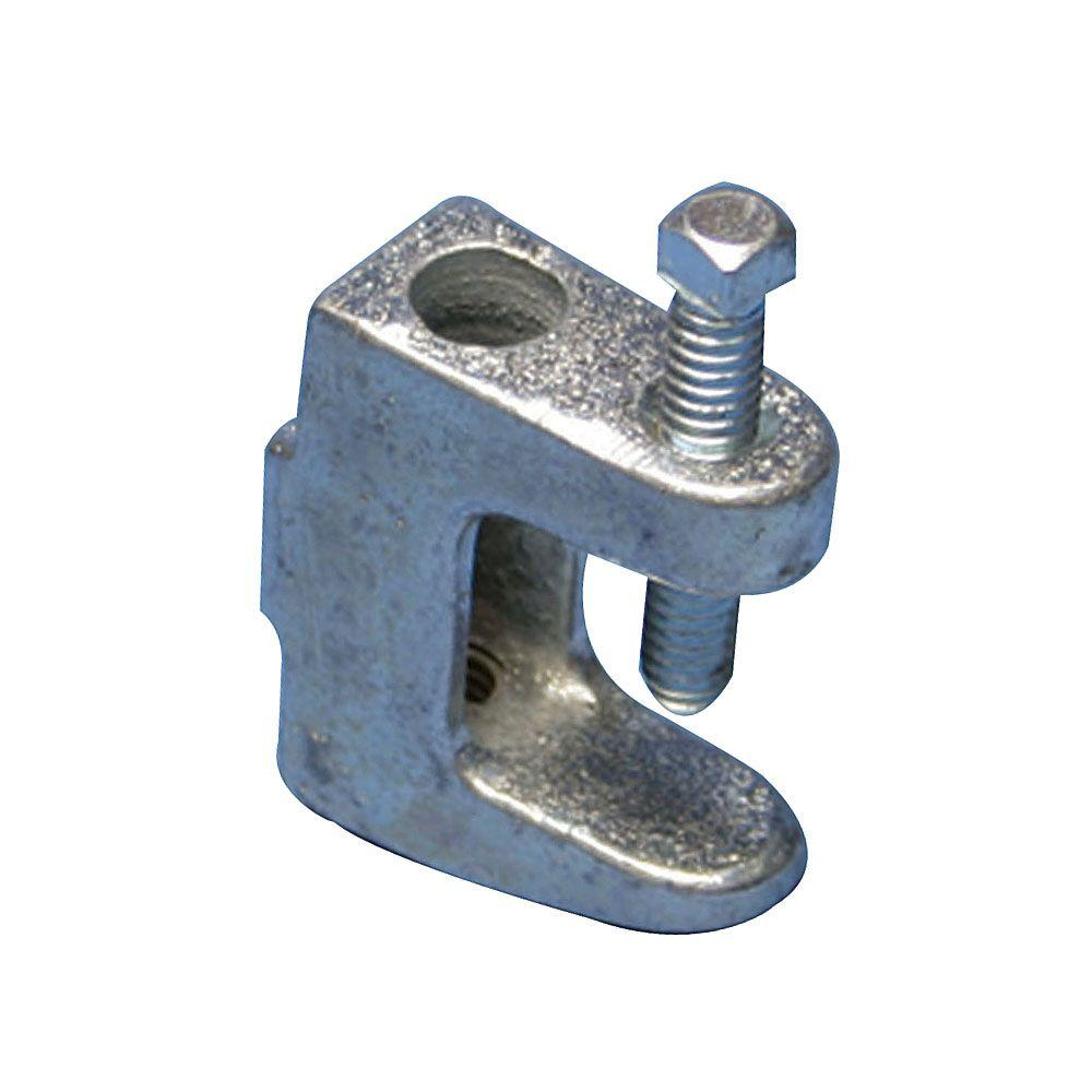 Caddy universal beam clamp with tapped hole for in