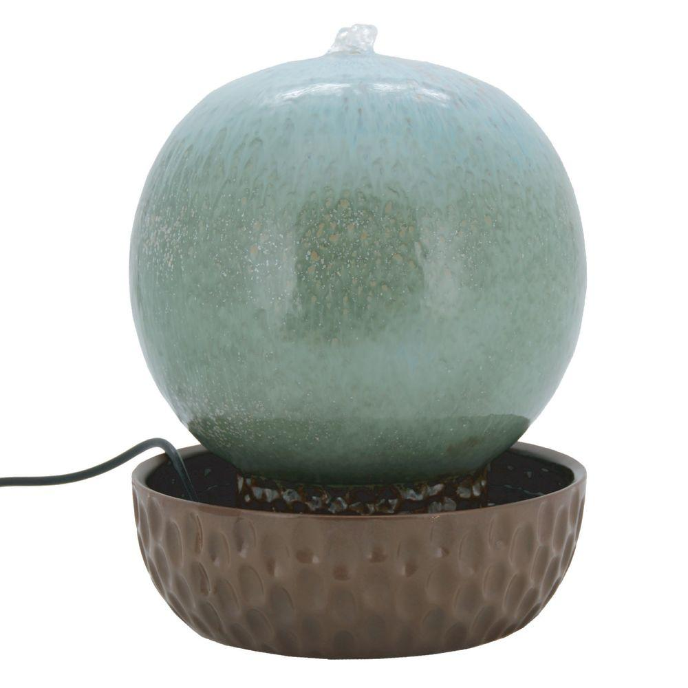 Pacific Decor 13 in. H Tropics 10 in. Ball Fountain-DISCONTINUED