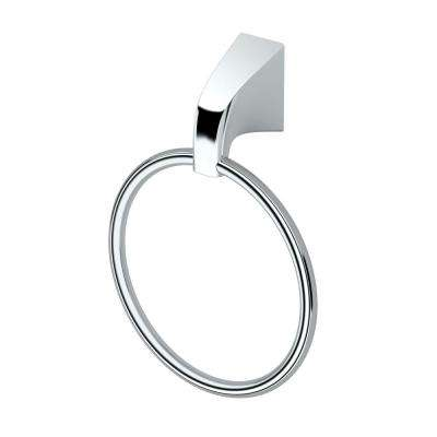Quantra Towel Ring in Chrome