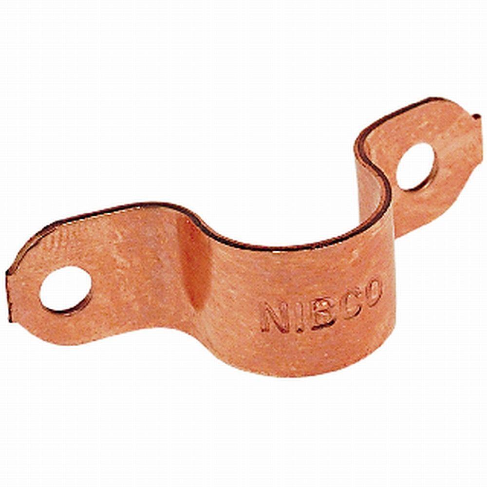 1 in. Copper Tube Straps (5-Pack)