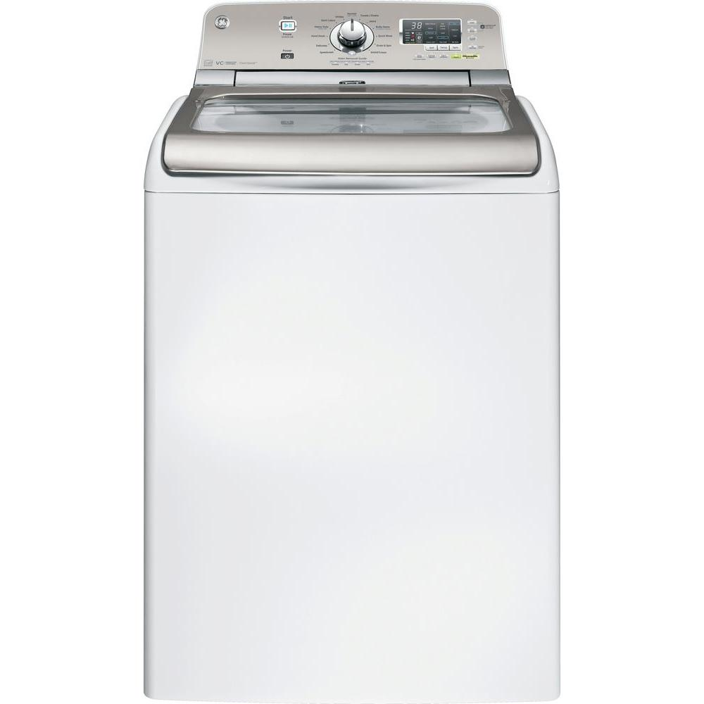 GE 4.8 DOE cu. ft. Top Load Washer in White, ENERGY STAR