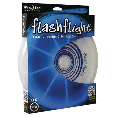 Flashflight LED Light-Up Flying Disc in Blue