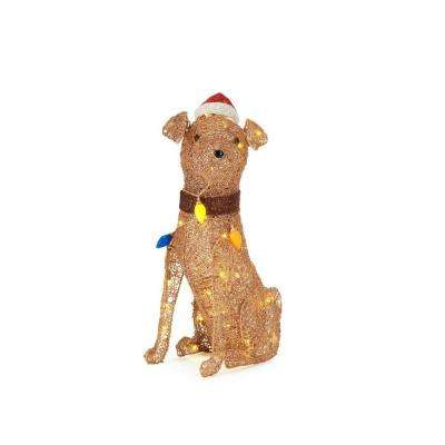 4 Up Dog Christmas Yard Decorations Outdoor Christmas