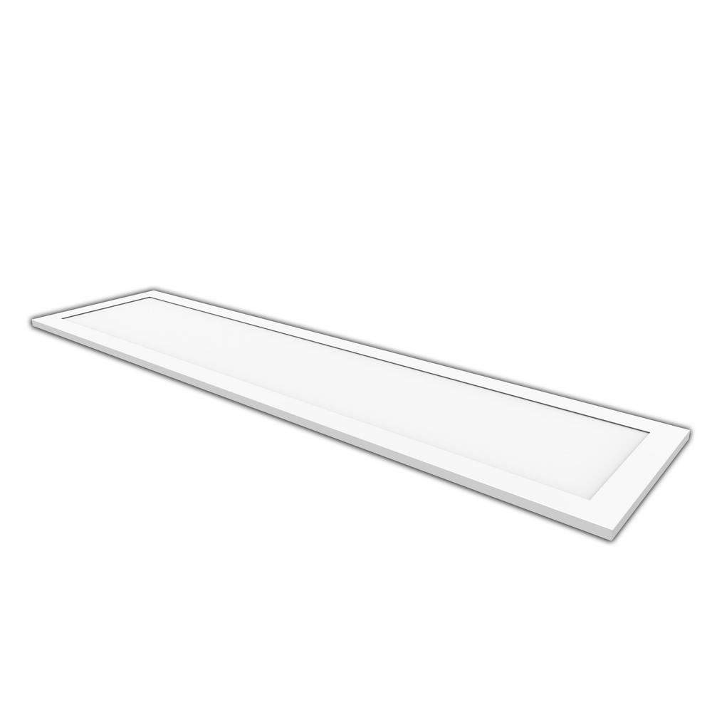 1 ft. x 4 ft. Edge-Lit 250-Watt Equivalent White Integrated LED