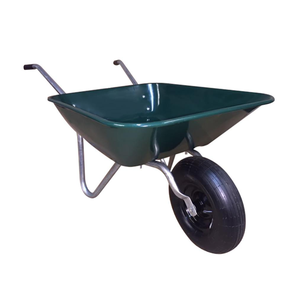 4 cu. ft. Easy Barrow Steel Wheelbarrow