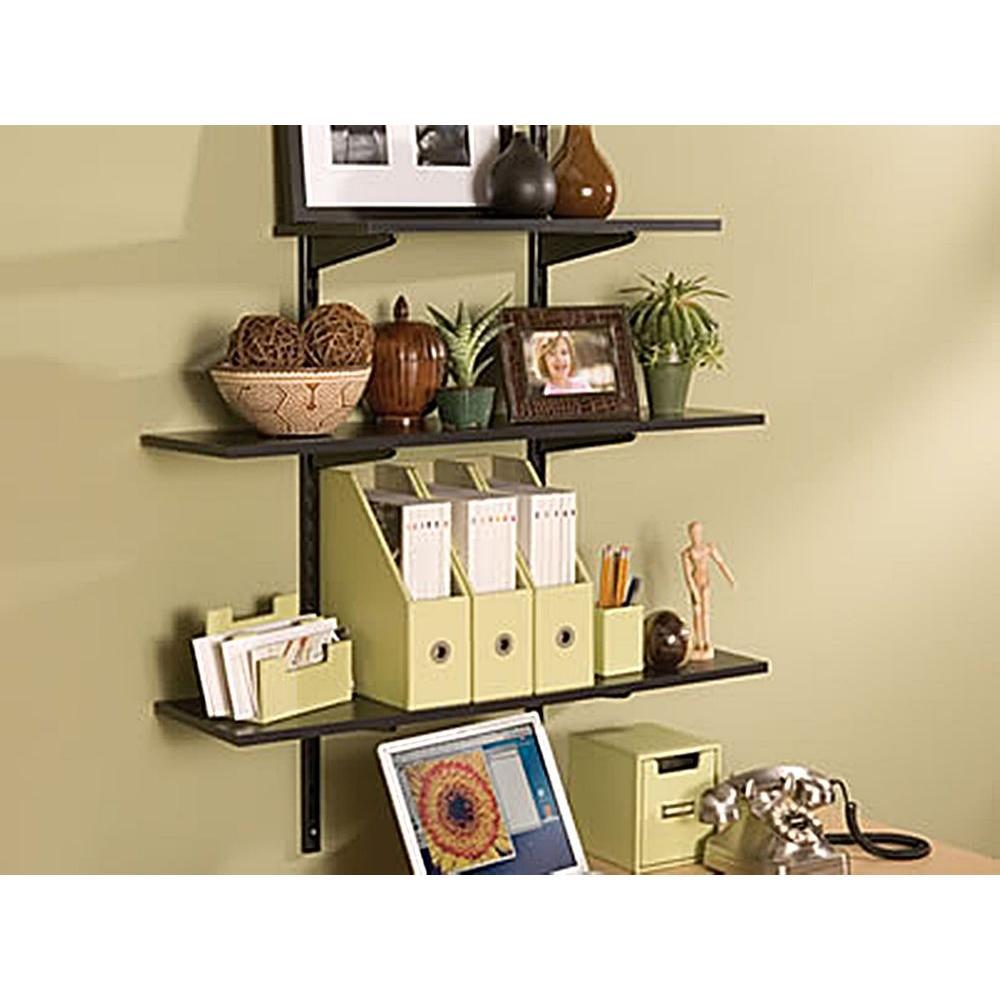 Black Laminated Wood Shelf Fg4b8100bla