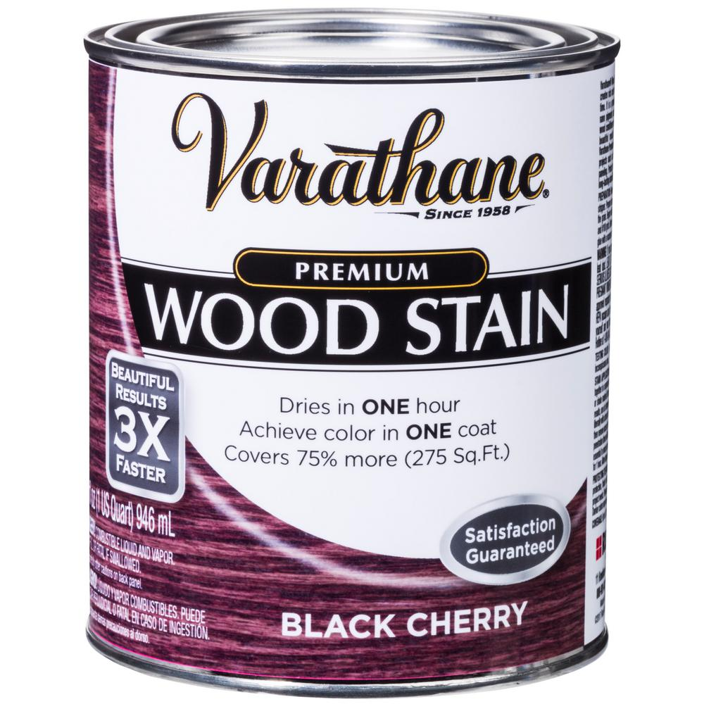 1 qt. Black Cherry Premium Fast Dry Interior Wood Stain