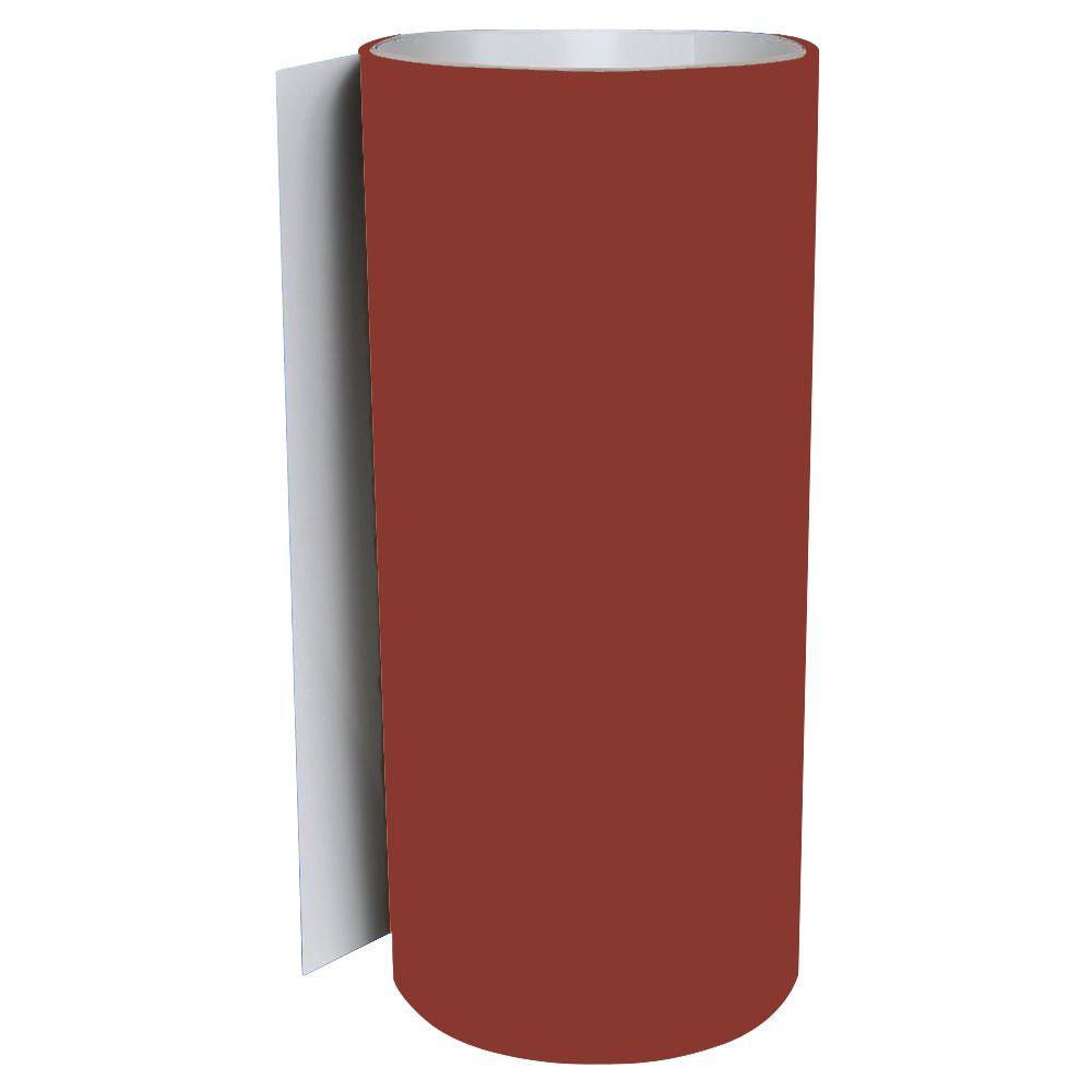 Rollex 24 In X 50 Ft Barn Red Pvc Trim Coil P 24x50p 315