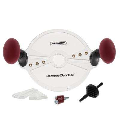 CompactSubBase Compact Router Attachment for Standard 1-3/16 in. Dia Bushings