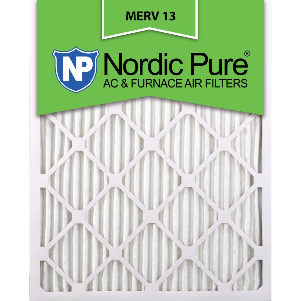 Nordic Pure 12x30x1 MERV 10 AC Furnace Air Filters 4 Pack