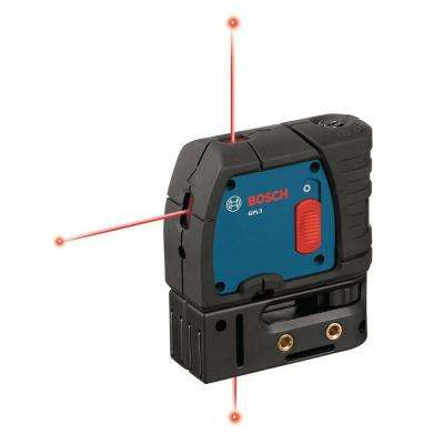 Factory Reconditioned 100 ft. Self Leveling 3 Point Laser Level with Mounting Strap and Belt Pouch