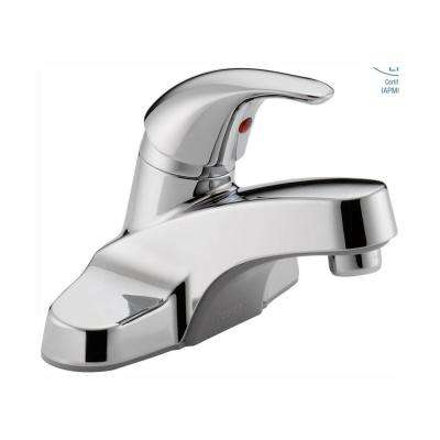 Core 4 in. Centerset Single-Handle Bathroom Faucet in Chrome