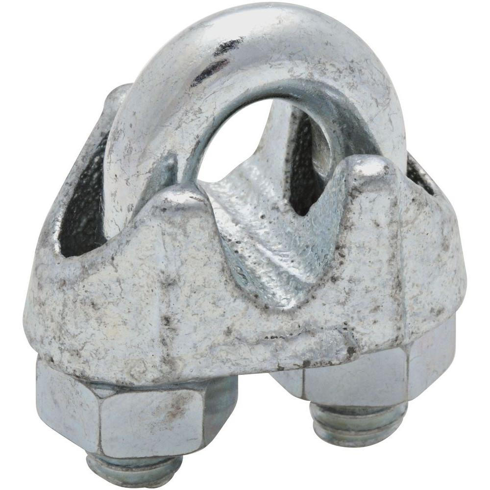 National Hardware 1/4 in. Zinc-Plated Wire Cable Clamp