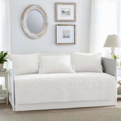 Felicity 5-Piece White Daybed Set