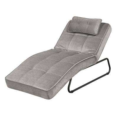 Bella Convertible Chaise in Grey