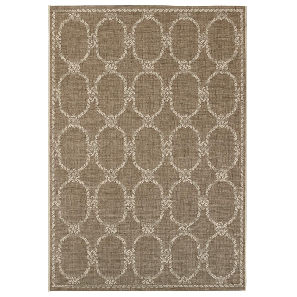 Home Decorators Collection Shore Sand 8 Ft. X 11 Ft. Indoor/Outdoor Area