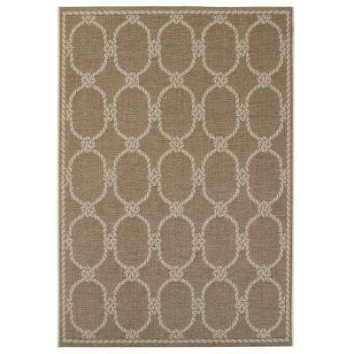 Shore Sand 9 ft. x 13 ft. Indoor/Outdoor Area Rug