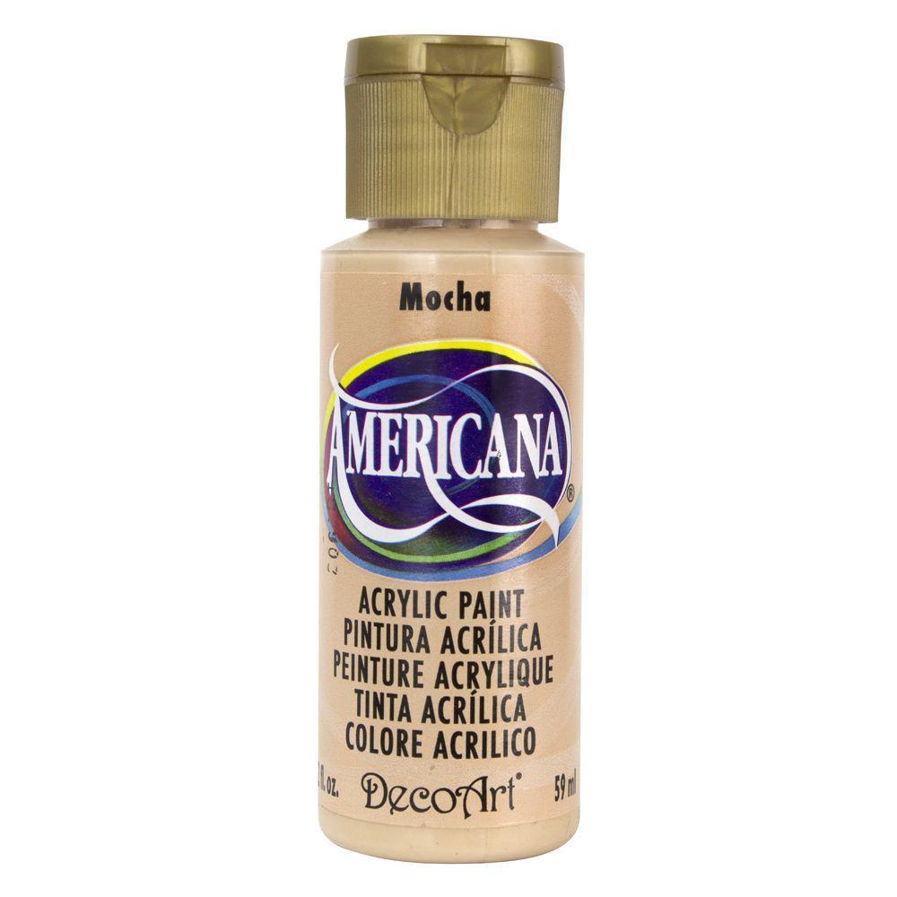 Americana 2 oz. Mocha Acrylic Paint