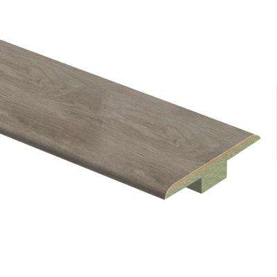 Ashcombe Aged Oak 7/16 in. Thick x 1-3/4 in. Wide x 72 in. Length Laminate T-Molding