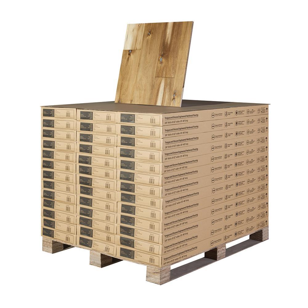 Acacia Huntington Beach 3/8 in. T x 6 1/2 in. Wide x Varying Length Engineered Hardwood Flooring (997.21 sq. ft./pallet)
