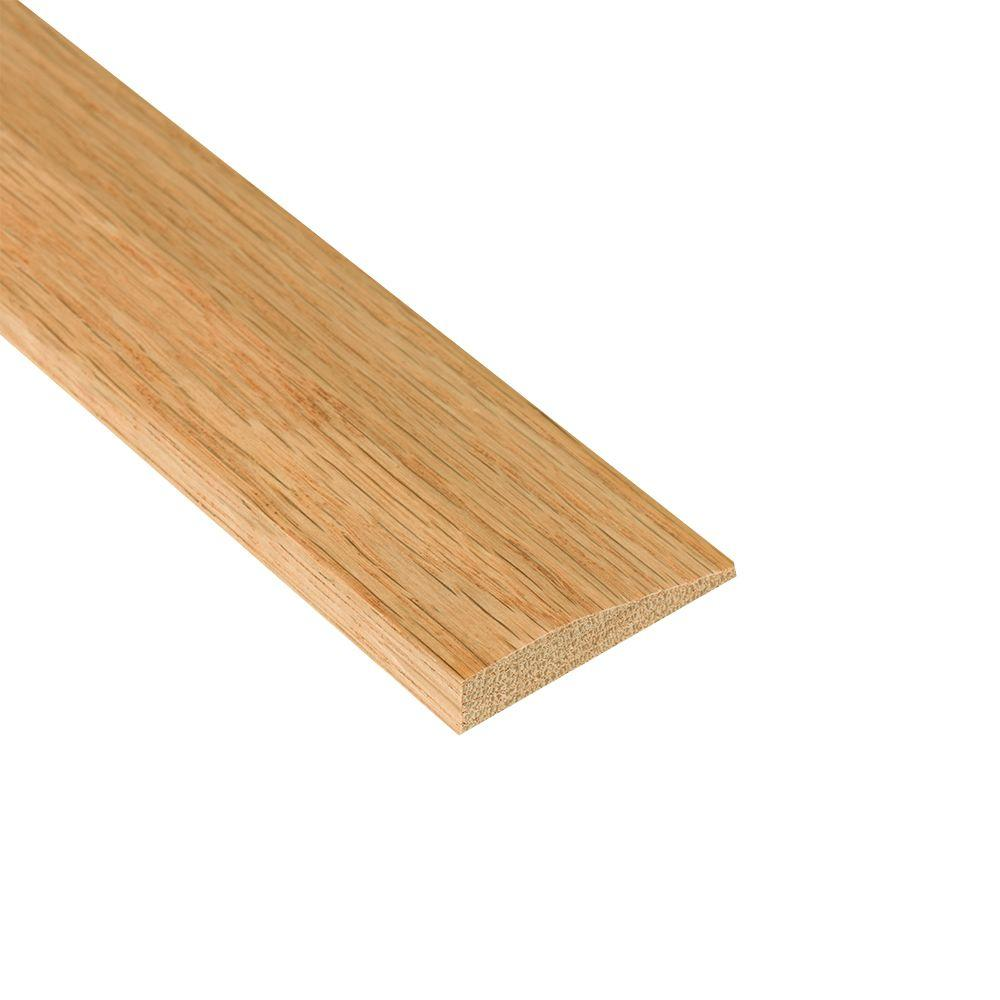 Nydree Flooring Essentials Oak Natural 5/12 in. Thick x 2 in. Wide x 78 in. Length Wood to Vinyl Reducer Molding