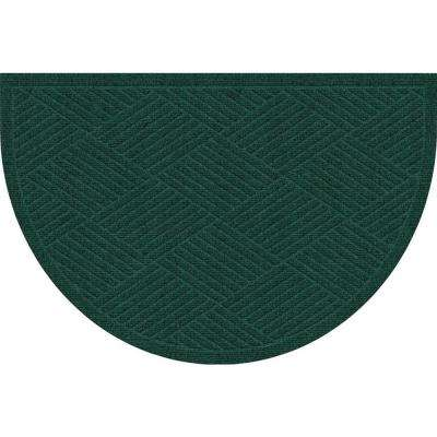 WaterGuard Diamonds Evergreen 24 in. x 39 in. Polypropylene Mat