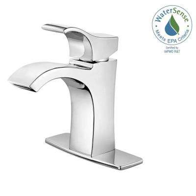 Venturi Single Hole Single-Handle Bathroom Faucet in Polished Chrome
