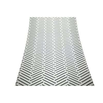 Treadway White Sand 18 in. x 8 in. Self-Adhesive, Non-Slip Stair Tread Cover (Set of 5)
