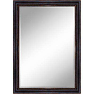 31 in. x 43 in. Bronze Gold Mirror in 1 in. Bevel with 3.5 in. Frame