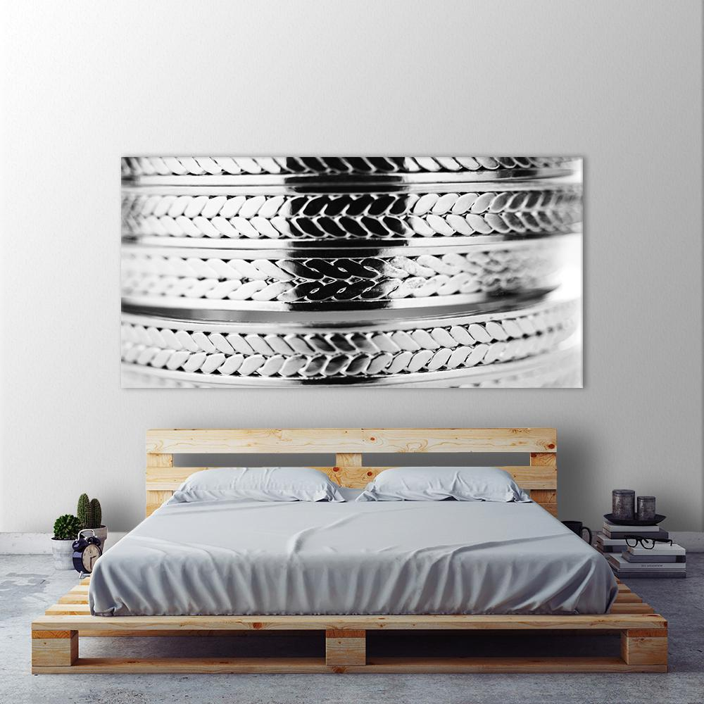 "36 in. x 72 in. ""Bracelet"" by Peter Morneau Printed Framed"