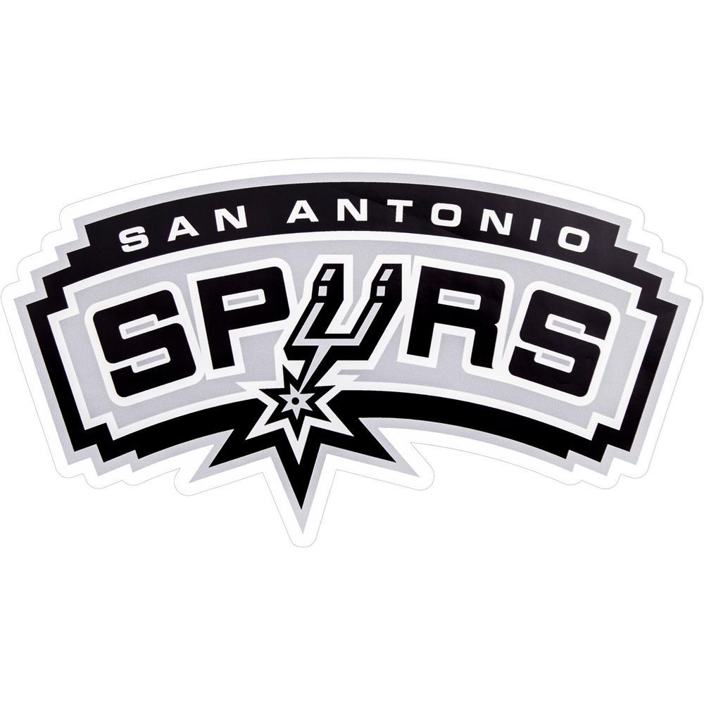 NBA San Antonio Spurs Outdoor Logo Graphic- Large